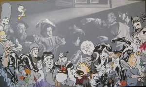 2011 - Acrilico su tela 100 x 170 cm